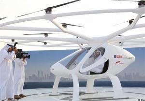 اولین «تاکسی پرنده» در دبی راهاندازی شد